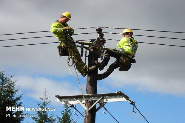 آسیب جدی به ۱۶۶۰ کیلومتر از شبکههای توزیع برق