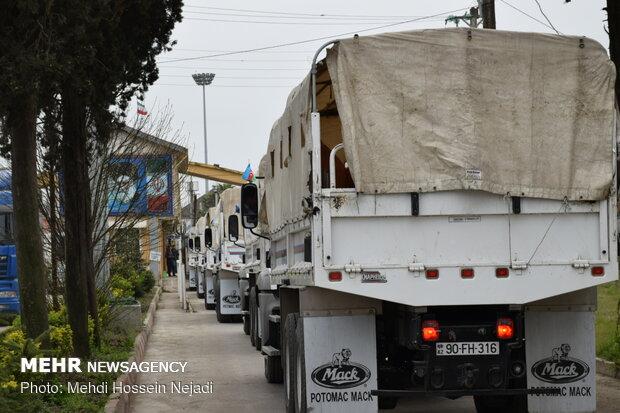 ارسال دومین محموله کمکهای کسبه بازار تهران به سیل زدگان