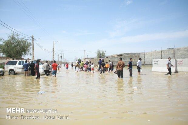 افزایش ۱۹ برابری بارش باران/خسارت ۲.۱۰۰میلیارد تومانی آب و برق